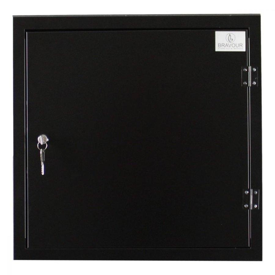BRVD12 Ladeschrank für 12 Tablet oder Laptops bis 17 Zoll - Schwarz-8
