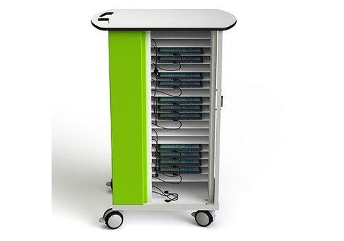 Zioxi USB Ladewagen für 20 Tablets bis zu 10.5 Zoll mit USB Anschlüssen