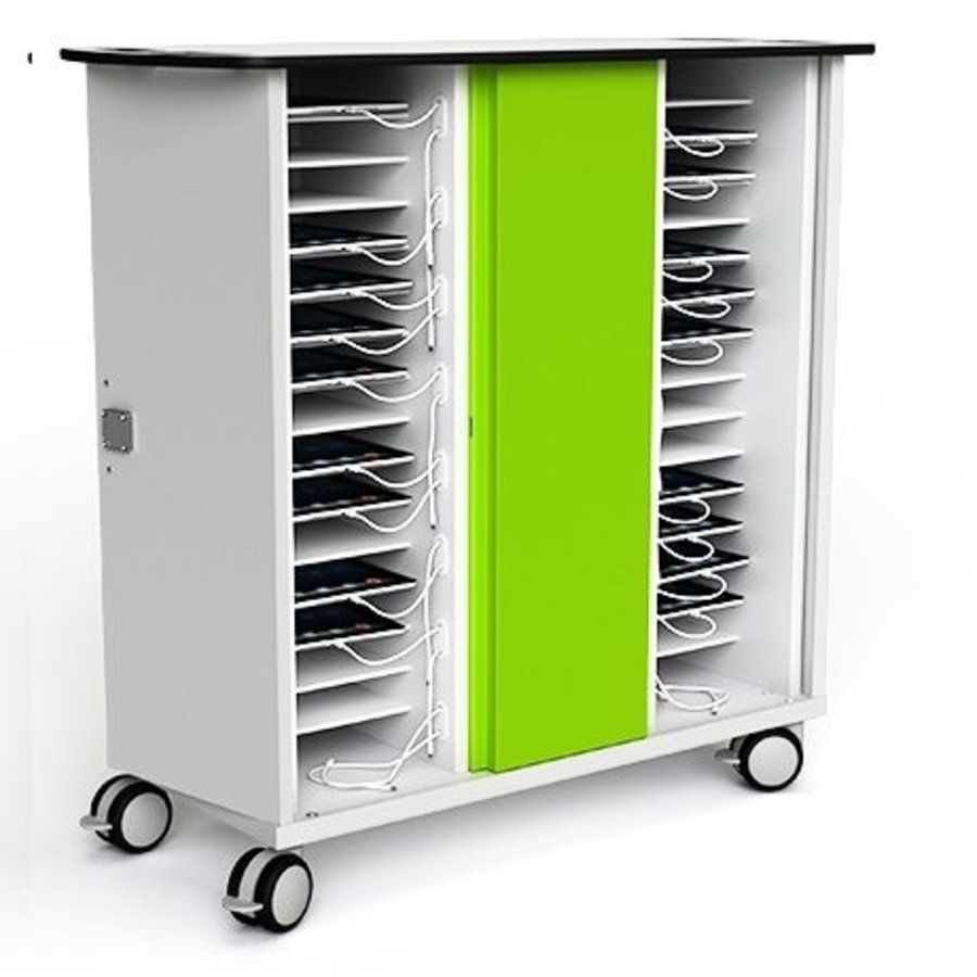 USB Ladewagen für 32 Tablets bis zu 10.5 Zoll mit USB Anschlüssen-2