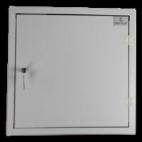 thumb-BRVD12 Ladeschrank für 12 Tablet oder Laptops bis 17 Zoll - Weiß-4