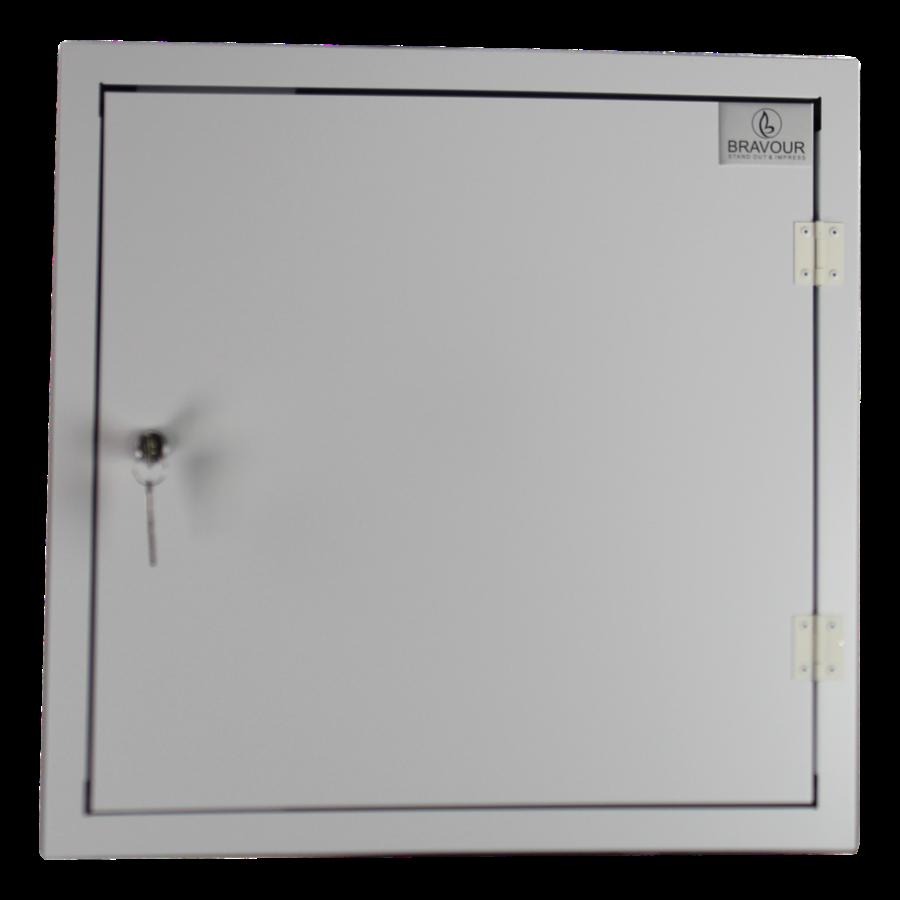 BRVD12 Ladeschrank für 12 Tablet oder Laptops bis 17 Zoll - Weiß-4
