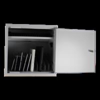 thumb-BRVD12 Ladeschrank für 12 Tablet oder Laptops bis 17 Zoll - Weiß-5