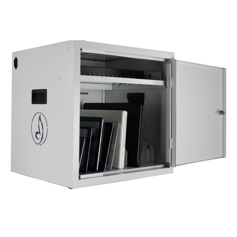 BRVD12 Ladeschrank für 12 Tablet oder Laptops bis 17 Zoll - Weiß-2