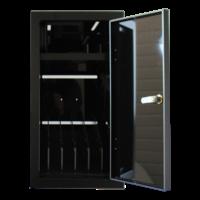thumb-BRVD6 Ladeschrank für 6 Tablets oder Laptops bis zu 17 Zoll - Schwarz-2