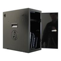thumb-BRVD6 Ladeschrank für 6 Tablets oder Laptops bis zu 17 Zoll - Schwarz-3