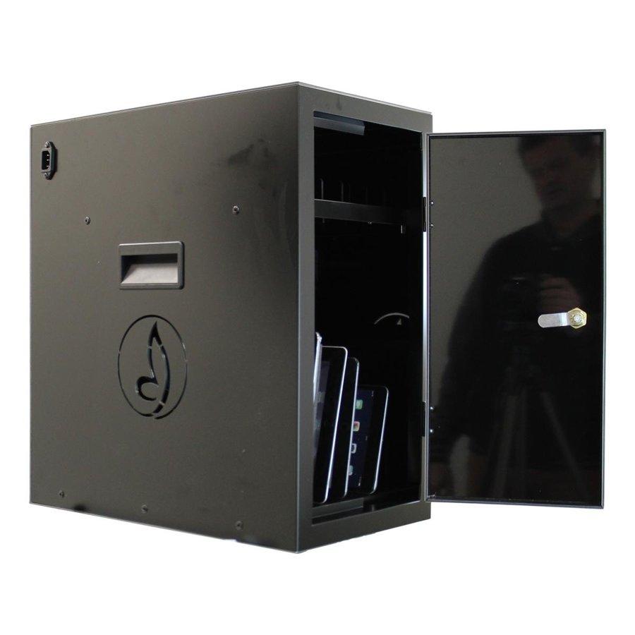 BRVD6 Ladeschrank für 6 Tablets oder Laptops bis zu 17 Zoll - Schwarz-3