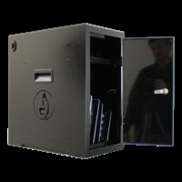 thumb-BRVD6 Ladeschrank für 6 Tablets oder Laptops bis zu 17 Zoll - Schwarz-4
