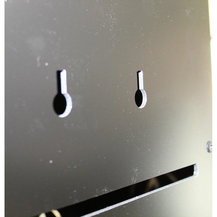 BRVD6 Ladeschrank für 6 Tablets oder Laptops bis zu 17 Zoll - Schwarz-7
