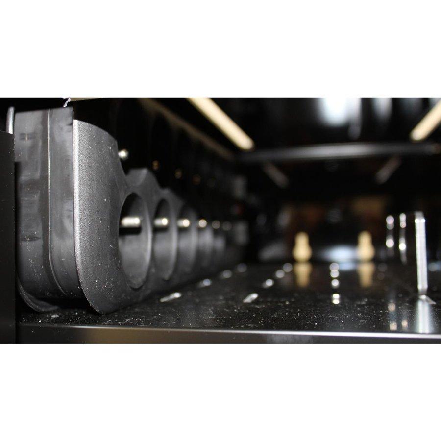 BRVD6 Ladeschrank für 6 Tablets oder Laptops bis zu 17 Zoll - Schwarz-9