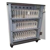 thumb-Bravour® BRVT36 USB-Ladeschrank / -Wagen für 36 Tablets-1