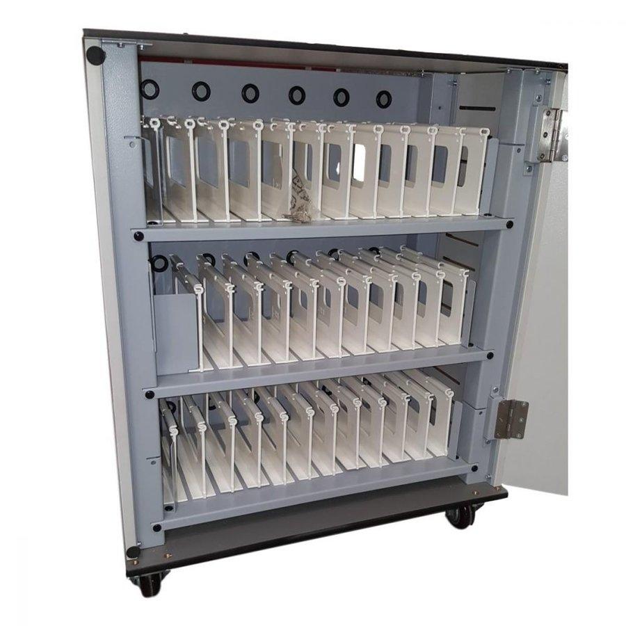 Bravour® BRVT36 USB-Ladeschrank / -Wagen für 36 Tablets-6