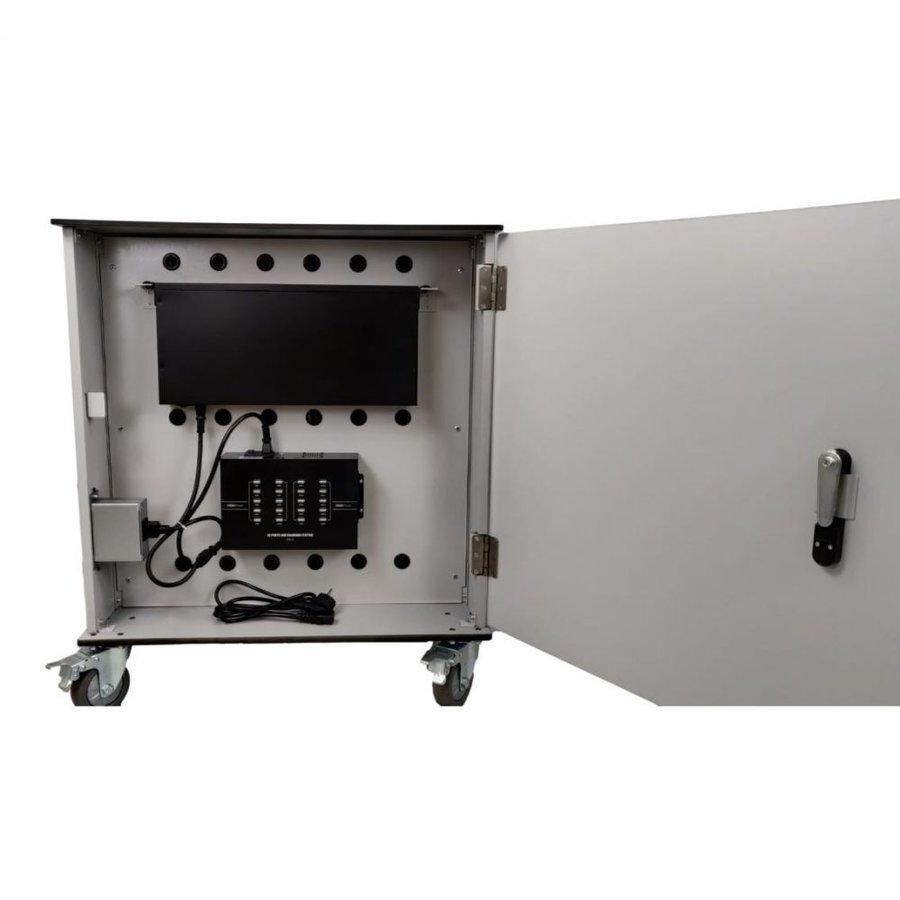 Bravour® BRVT36 USB-Ladeschrank / -Wagen für 36 Tablets-7