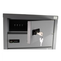 thumb-BR10 Freistehendes Spind, Staufacher vorgesehen von ein 220V und zwei USB-Anschlüssen. Jedes Ablagefach hat ein Codeschloss.-9
