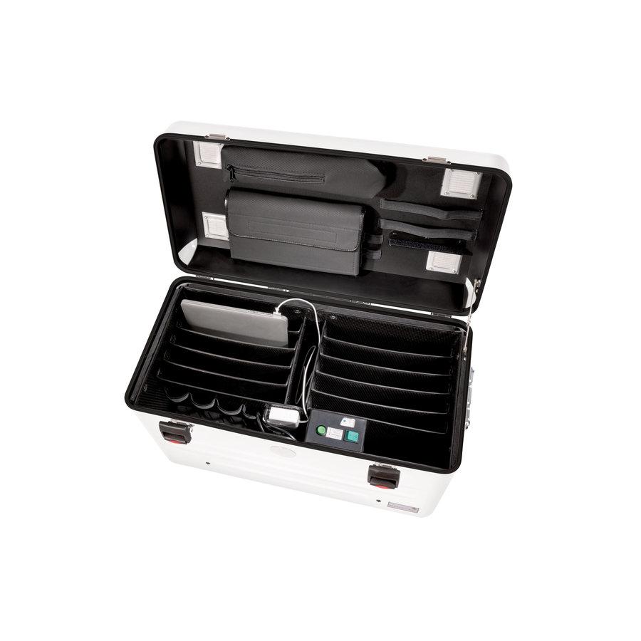 Parat N10 trolley koffer Notebooks für 10x 15,6'' in weiß-2