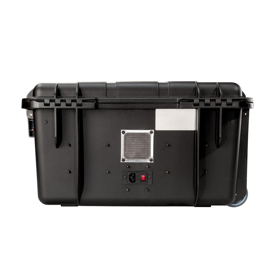 PARAPROJECT Case CC20 CargoCase  für 20 Tablets TwinCharge, USB-C,  mit Fächereinteilung, ohne Kabel  schwarz, Betriebssysteme: Android, iOS, Windows-2