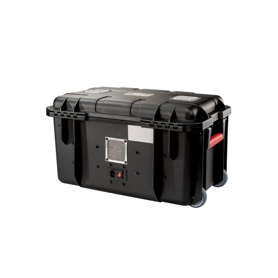 PARAPROJECT Case CC20 CargoCase  für 20 Tablets TwinCharge, USB-C,  mit Fächereinteilung, ohne Kabel  schwarz, Betriebssysteme: Android, iOS, Windows-3