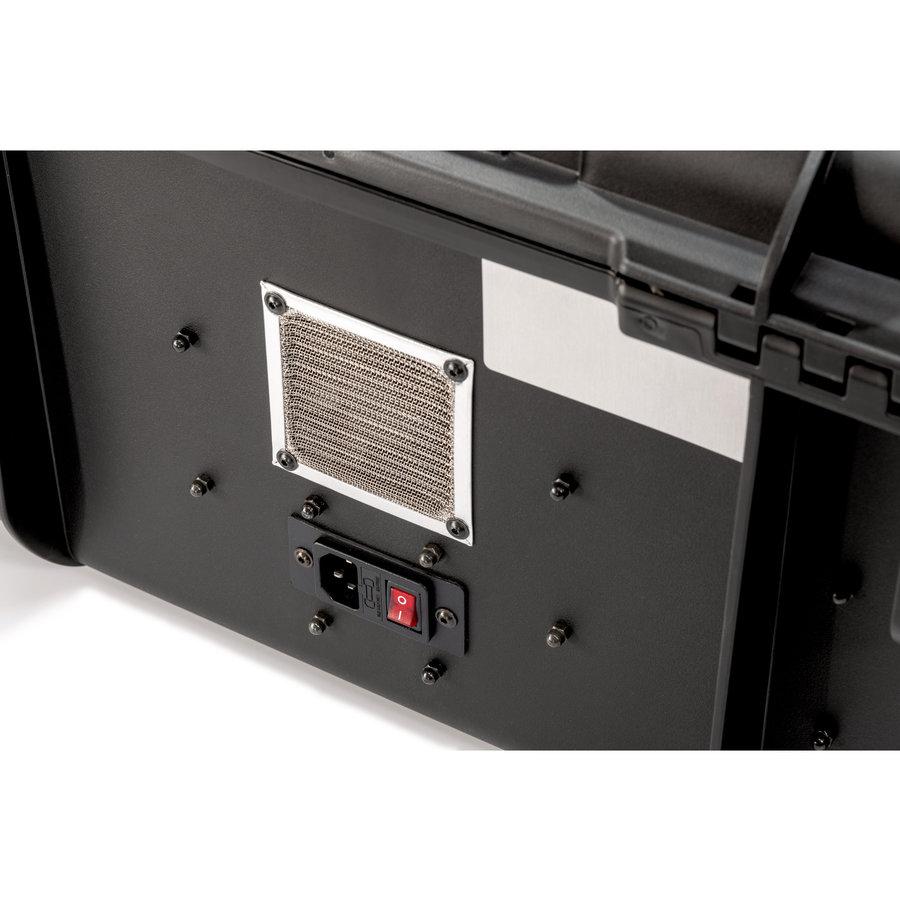 PARAPROJECT Case CC20 CargoCase  für 20 Tablets TwinCharge, USB-C,  mit Fächereinteilung, ohne Kabel  schwarz, Betriebssysteme: Android, iOS, Windows-6