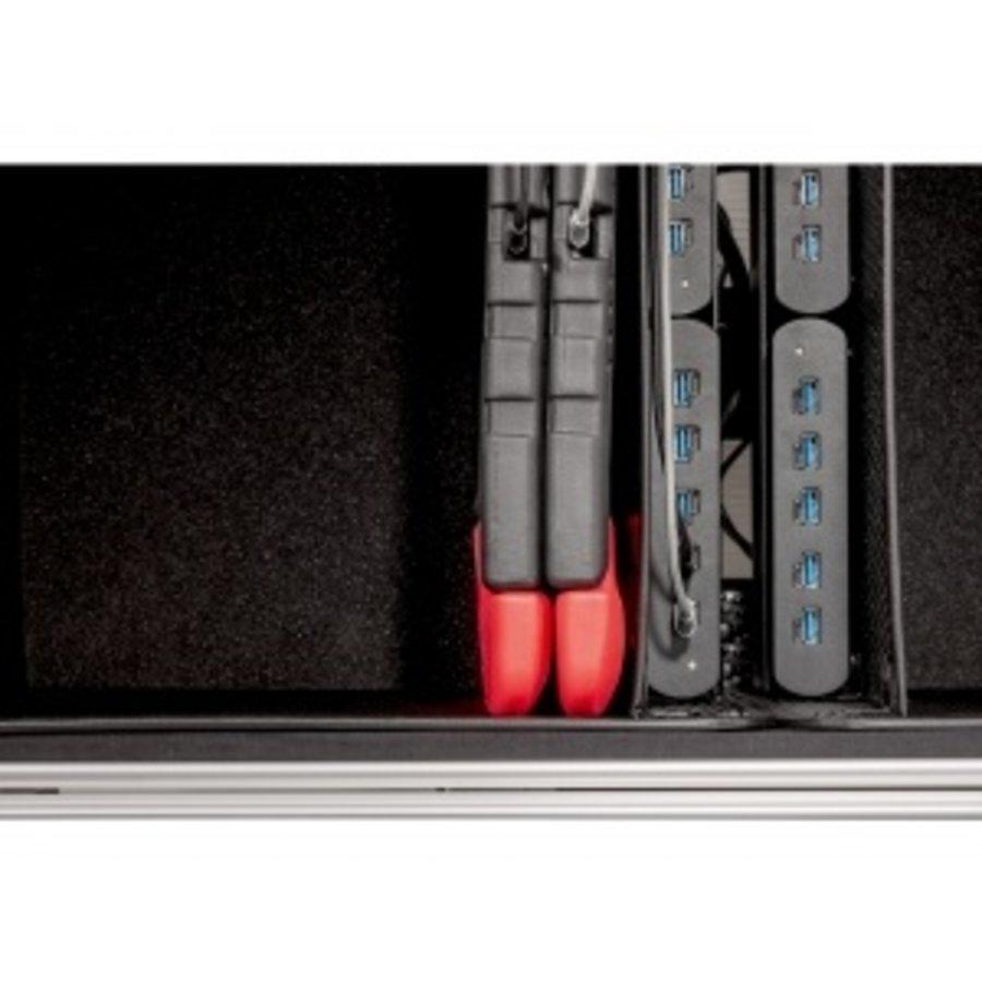 Parat Tablet-Ladekoffer TC20 Educover/Kidscover TwinCharge für 20 Tablets bis 12 Zoll in Schwarz-5