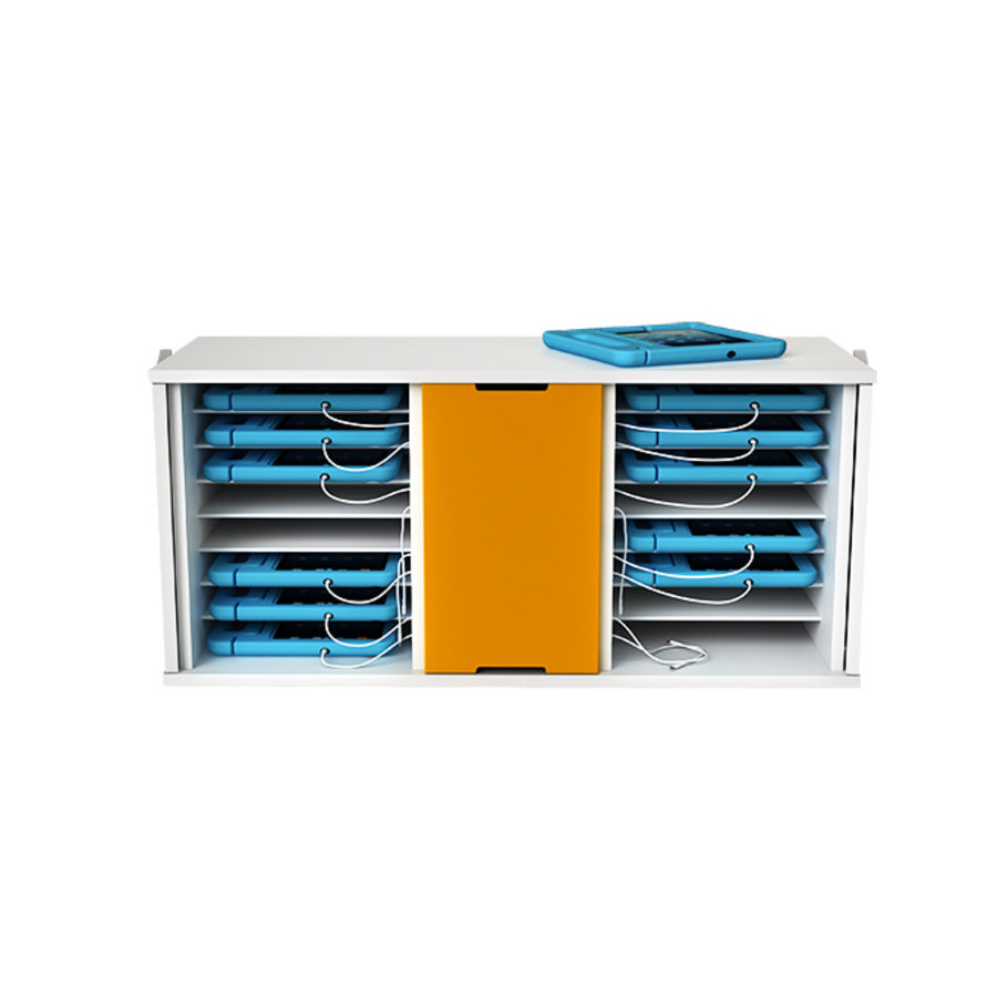 """Ladeschrank für 16 iPads und Tablets bis 11"""" mit KidsCover-2"""
