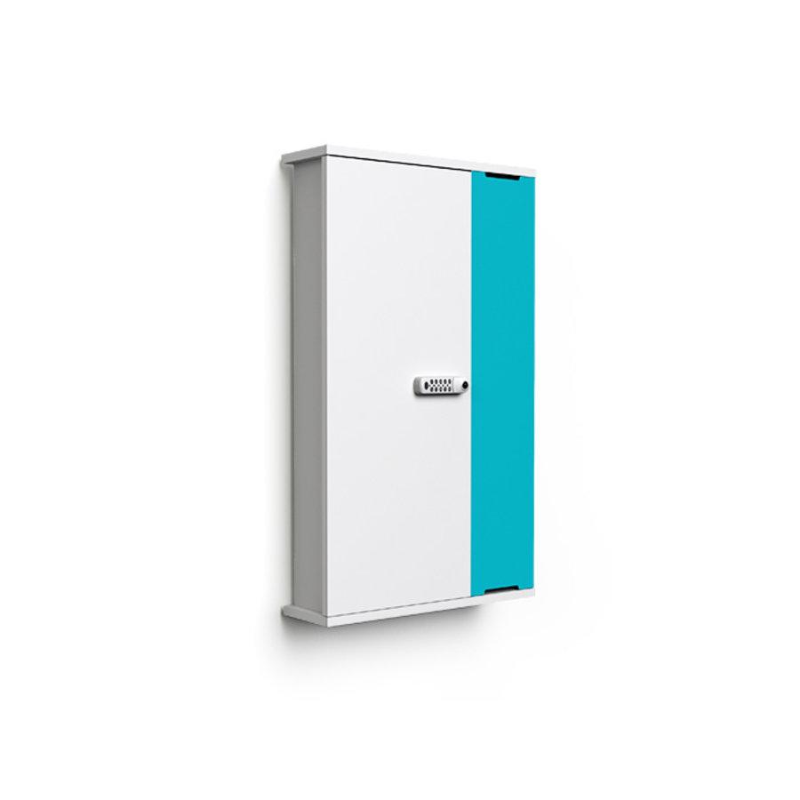 """Wand-Ladeschrank mit USB-Connectors für 10 iPads oder Tablets 9""""-11""""-2"""