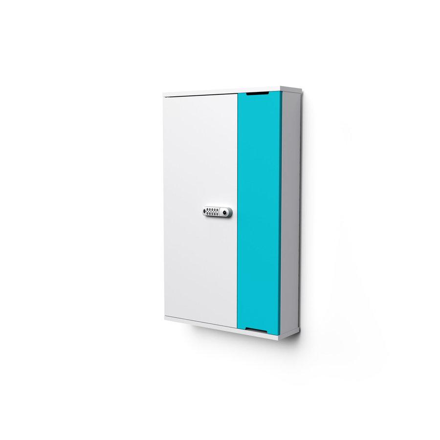 """Wand-Ladeschrank mit USB-Connectors für 10 iPads oder Tablets 9""""-11""""-3"""