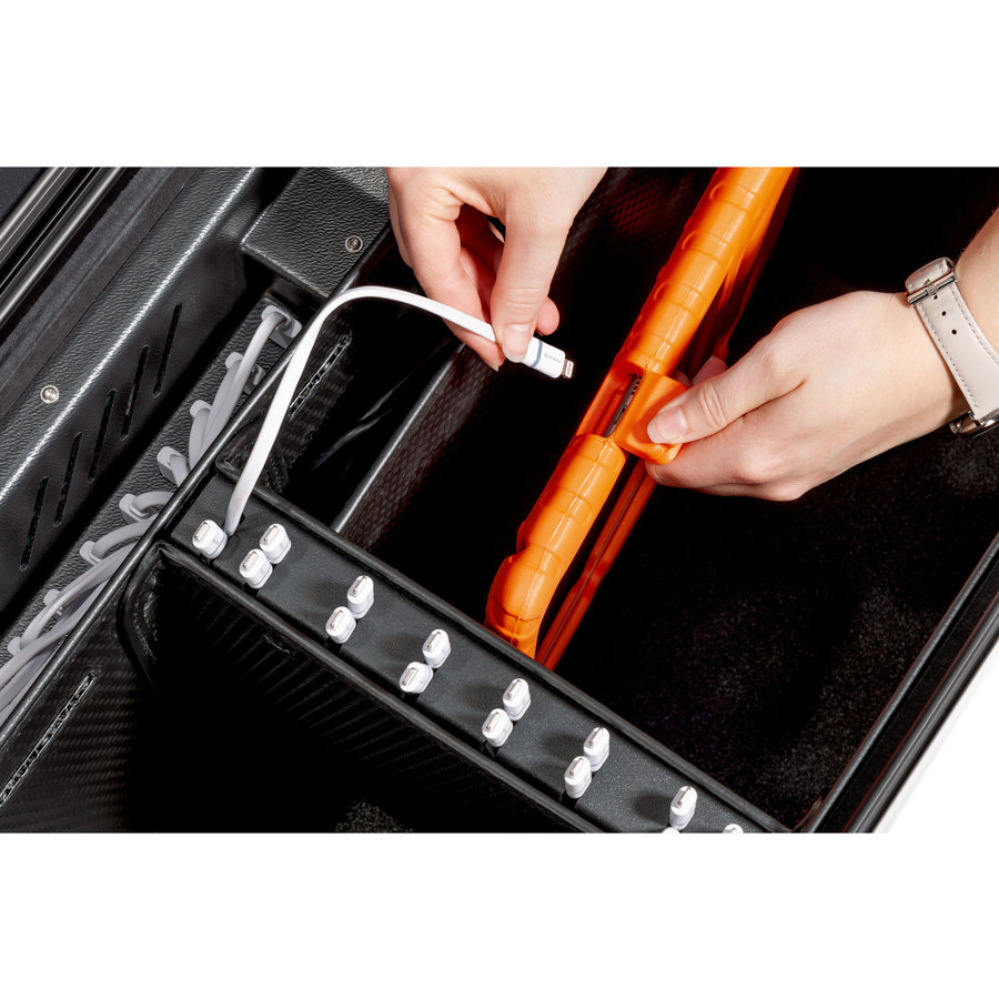 Charge & Sync Gehäuse einschließlich Kabel für iPads und Tablets, i16-KC  schwarz-2