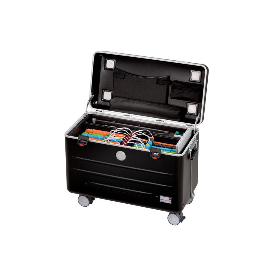 Charge & Sync Gehäuse einschließlich Kabel für iPads und Tablets, i16-KC  schwarz-1