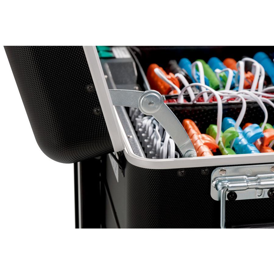 Charge & Sync Gehäuse einschließlich Kabel für iPads und Tablets, i16-KC  schwarz-3