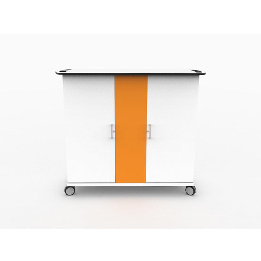 Ladewagen für 30 iPads und Tablets in dicken Schutzhüllen und einem Codeschloss-2