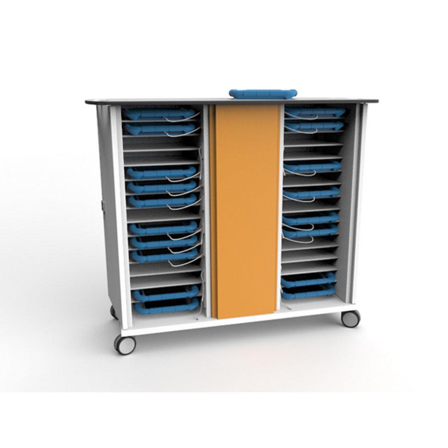 Ladewagen für 30 iPads und Tablets in dicken Schutzhüllen und einem Codeschloss-1