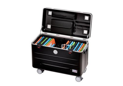 Parat charge i20-KC Koffer mit Rollen für 20 Tablets ohne Fächereinteilung schwarz