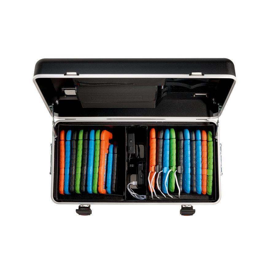 Mobile Ladekoffer i20 für bis zu 20 iPads oder Tablets,  schwarz ohne Fächer-2