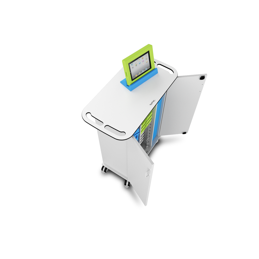iPad USB Big Grips Ladewagen Zioxi CHRGT-BG-15 für 15 Tablets bis zu 10,5 Zoll-2