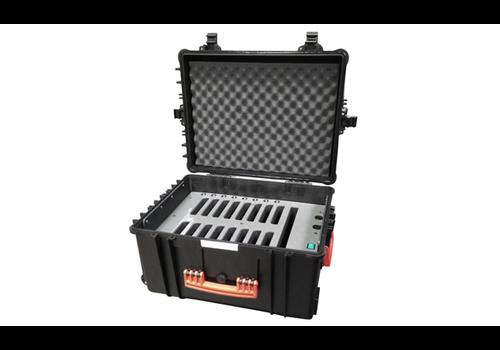 """Parotec-IT charge & sync iNsync C70 Koffer 16 iPads und Tablets 7 - 8""""  mit Schutzhuellen"""
