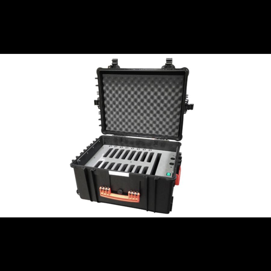 Tabletkoffer fürs Lagern, Transportieren und Synchronisieren von 16 Tablets, in Schutzhüllen-1