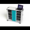 """Zioxi Zioxi on View Ladewagen für 32 Laptops bis 15,6 """"mit Codeschloss"""