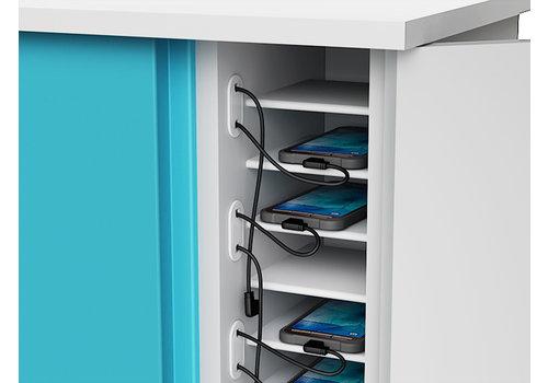 """Zioxi Ladeschrank für 16 Handys, Smartphones und iPods bis 6"""""""