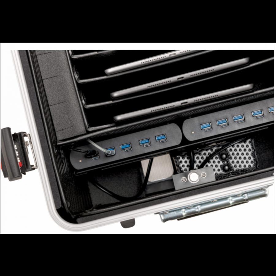 Parat Tablet-Ladekoffer TC10 TwinCharge USB-A und USB-C für 10 Tablets bis zu 12,9 Zoll-5