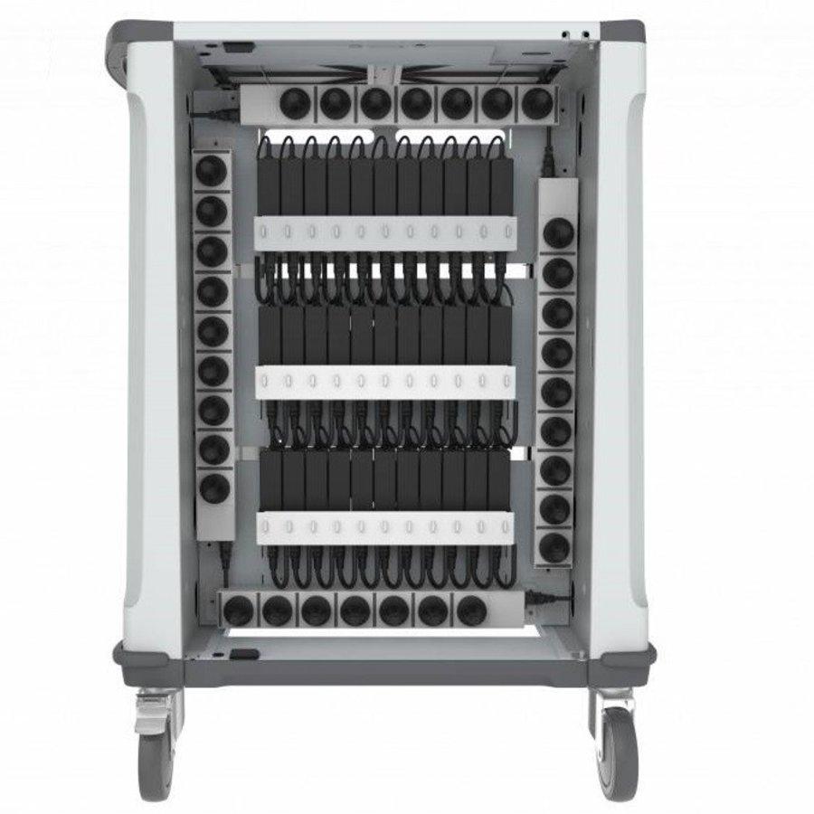 32 Geräte PARAPROJECT Ladetrolley mit Aufladen- und Synchronisierfunktion für 32 iPads und Tablets bis 13,3 Zoll-5