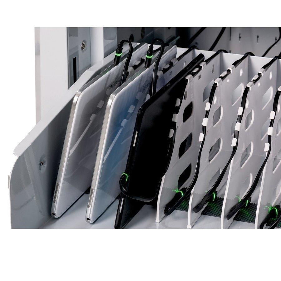 32 Geräte PARAPROJECT Ladetrolley mit Aufladen- und Synchronisierfunktion für 32 iPads und Tablets bis 13,3 Zoll-7