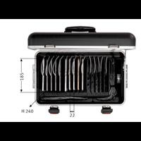 thumb-Tablet-Ladekoffer Parat TC15 MicroCase TwinCharge USB-C für 15 Tablets bis zu 11 Zoll - in Schwarz-2