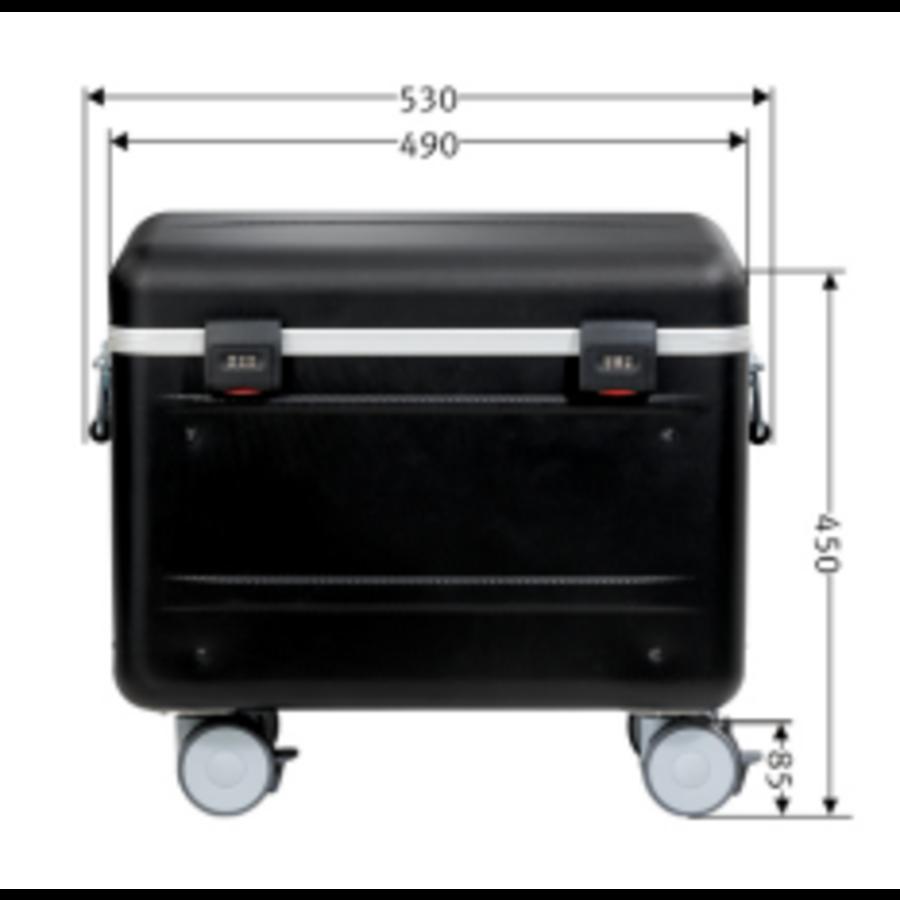 Tablet-Ladekoffer Parat TC15 MicroCase TwinCharge USB-C für 15 Tablets bis zu 11 Zoll - in Schwarz-8