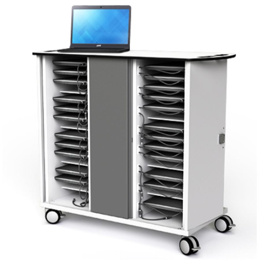 Chromebook onView Ladewagen Zioxi  für 32 Chromebooks bis zu 14 Zoll-2