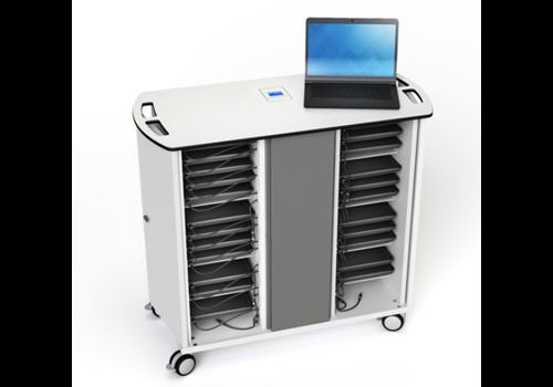 Zioxi Chromebook onView Ladewagen Zioxi  für 32 Chromebooks bis zu 14 Zoll