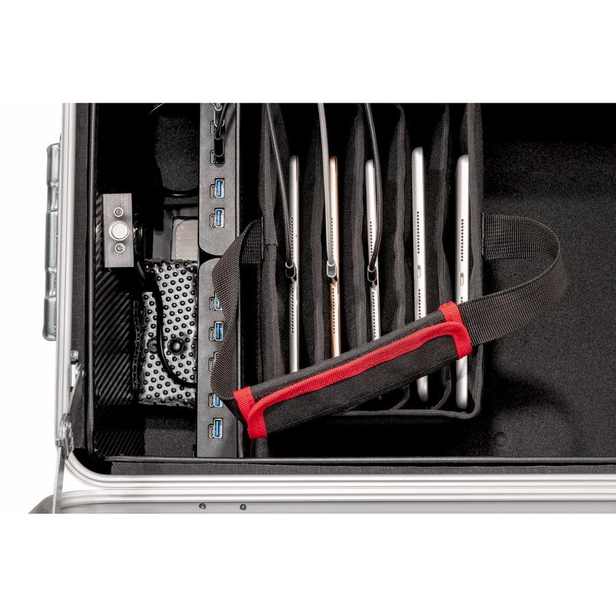 Parat Tablet-Ladekoffer TC10 BASKET TwinCharge USB-C für 10 Tablets bis 11,5 Zoll in Schwarz-3