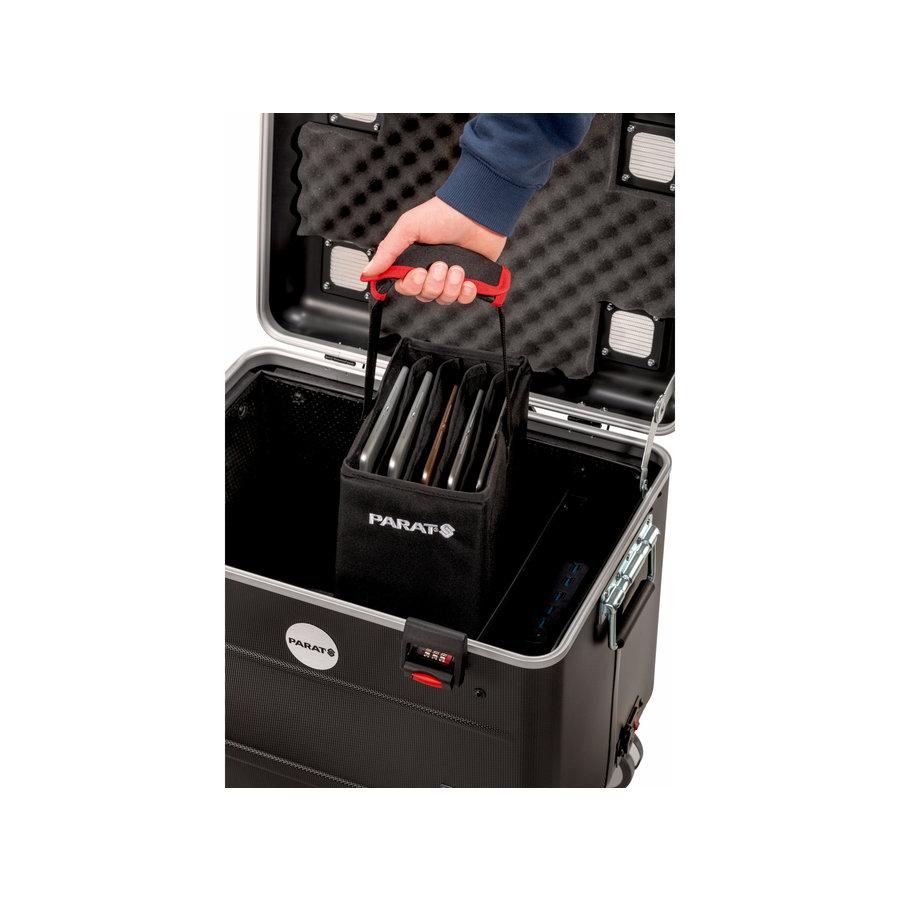 Parat Tablet-Ladekoffer TC10 BASKET TwinCharge USB-C für 10 Tablets bis 11,5 Zoll in Schwarz-2