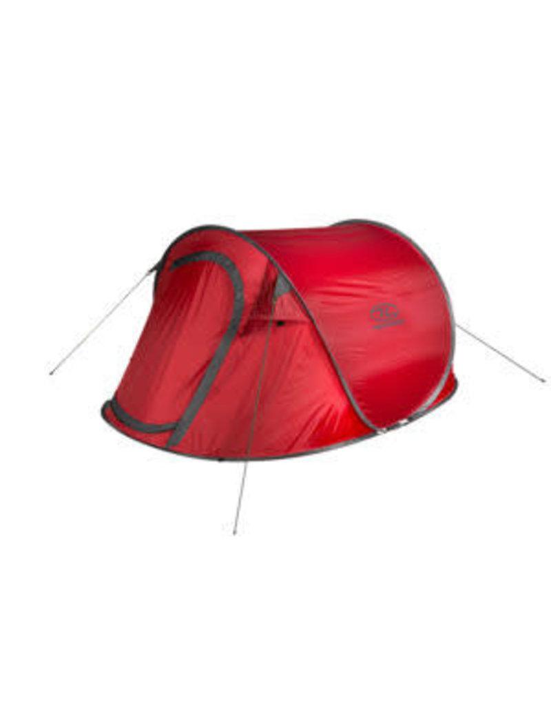 Highlander Heather 3 pers pop up tent