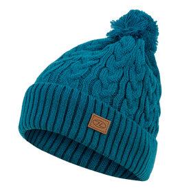 Highlander Beira Lined Bobble Hat Ocean Blue