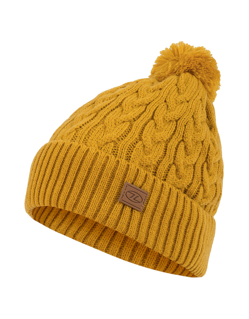 Highlander Beira Lined Bobble Hat Arrowwood