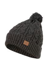 Highlander Beira Lined Bobble Hat Charcoal Marl